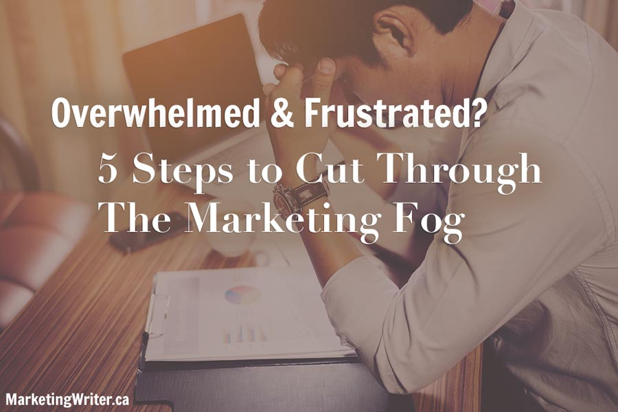 Suffering from Marketing Overwhelm and Frustration?
