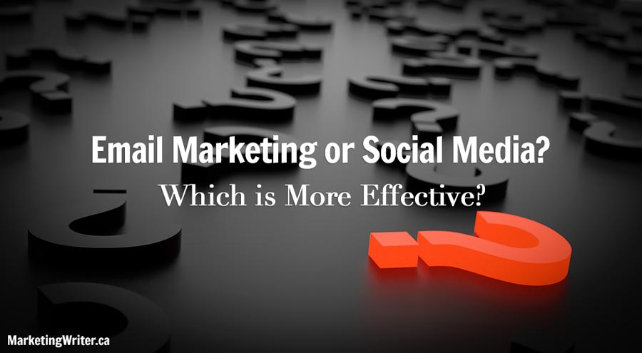Email Marketing or Social Media? Which is More Effective?