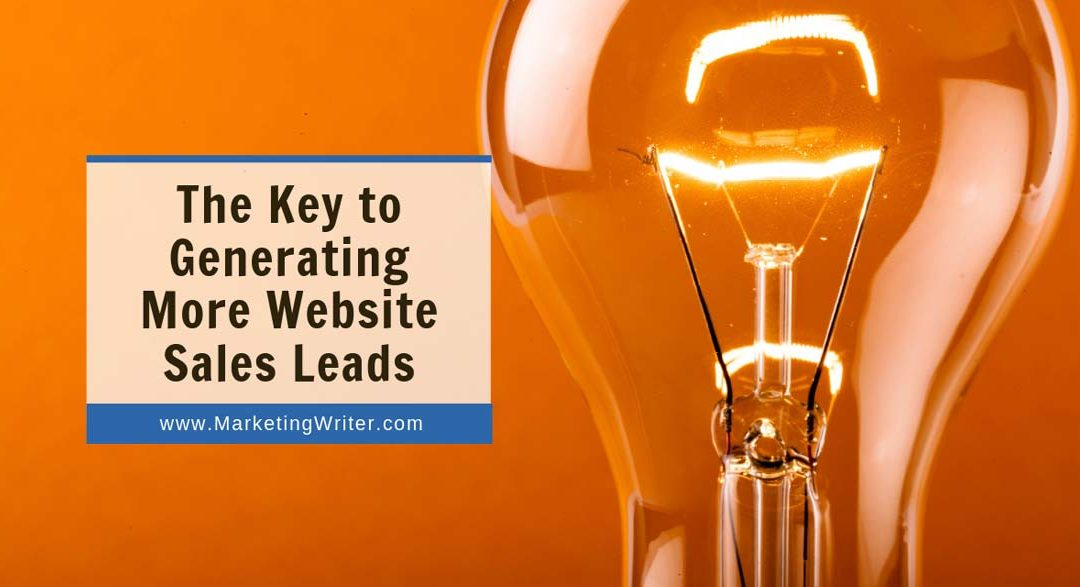 A Proven 4-Part Formula For More Website Sales Leads